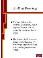 as built drawings10