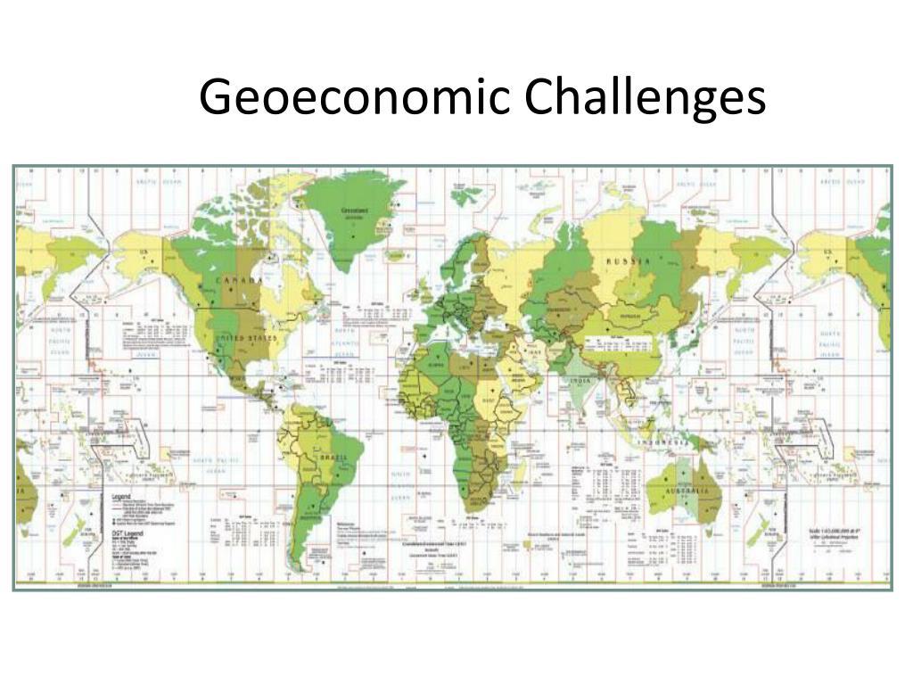 Geoeconomic Challenges