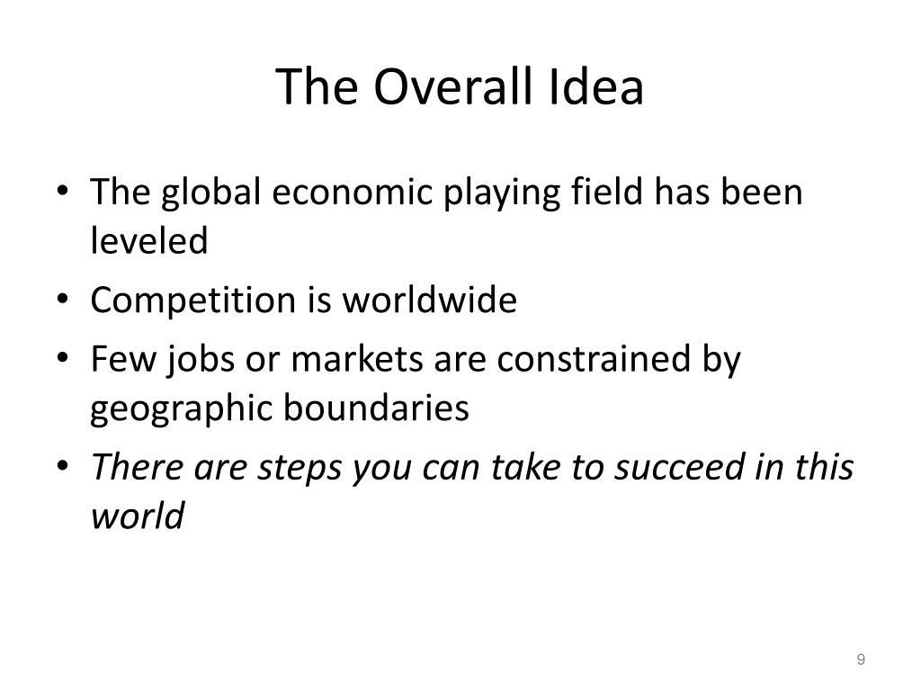 The Overall Idea