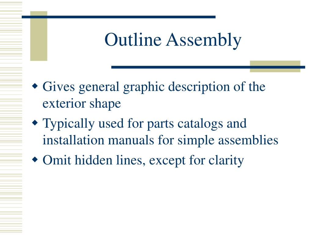 Outline Assembly