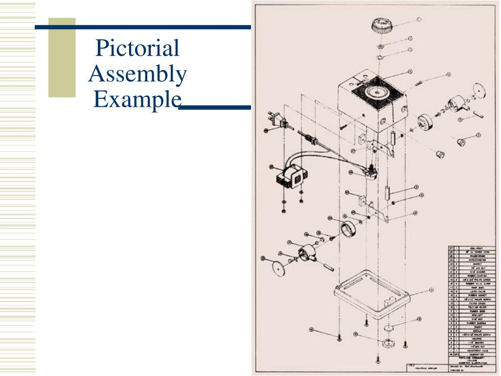 Pictorial Assembly Example