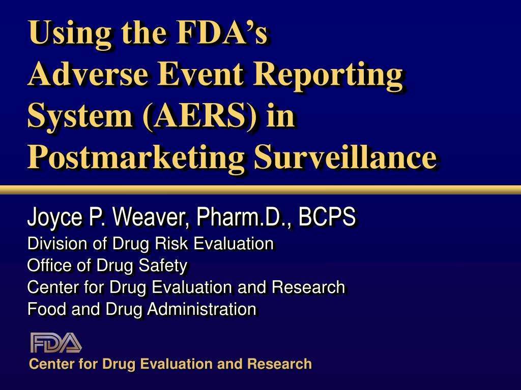 Adverse event reporting ppt.