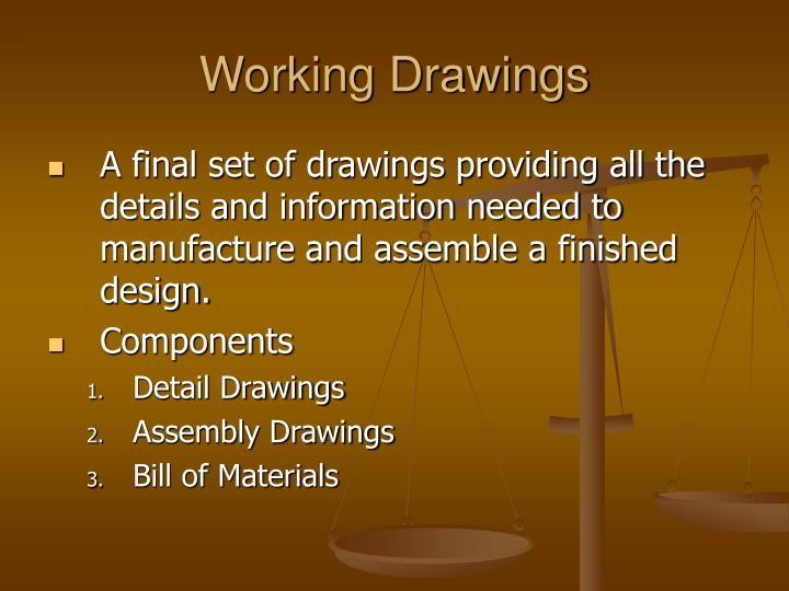 Working drawings2