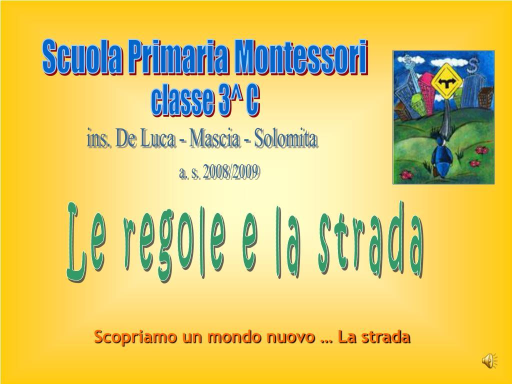 Scuola Primaria Montessori