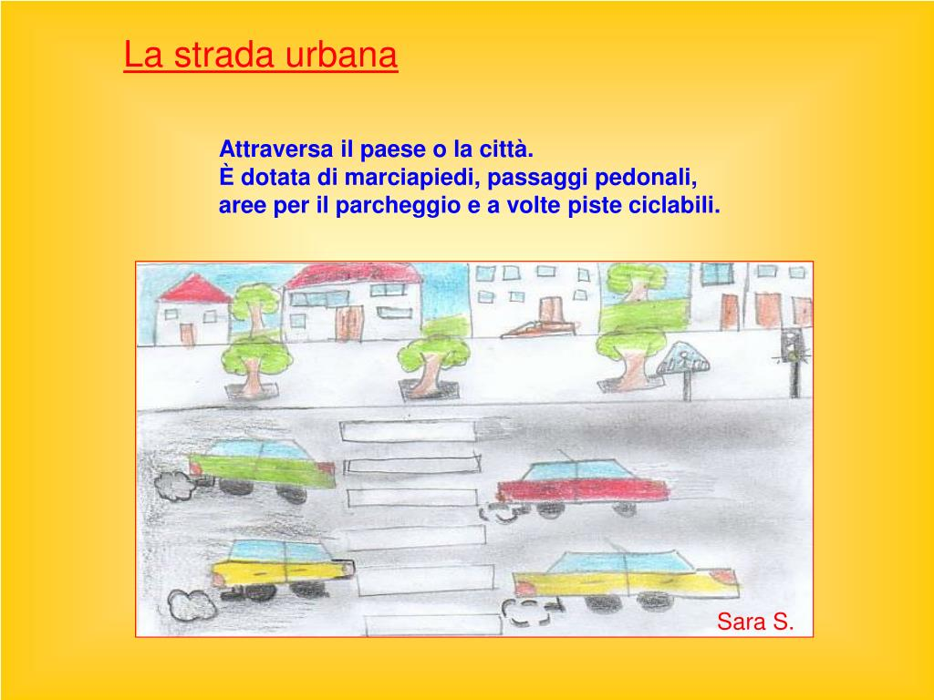 La strada urbana