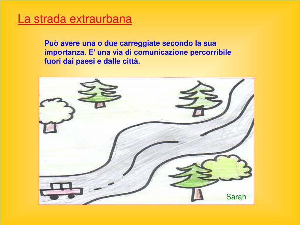 La strada extraurbana