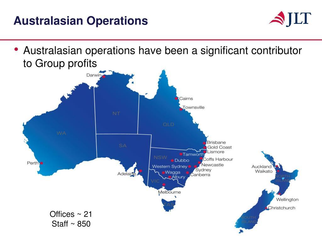 Australasian Operations