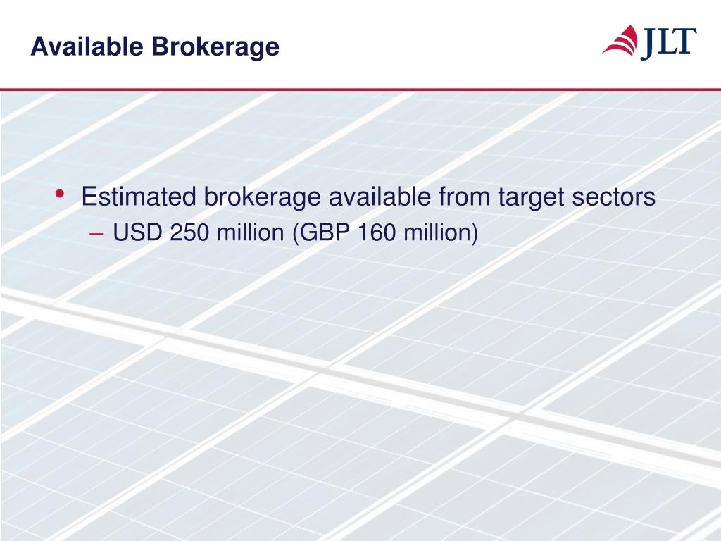 Available Brokerage