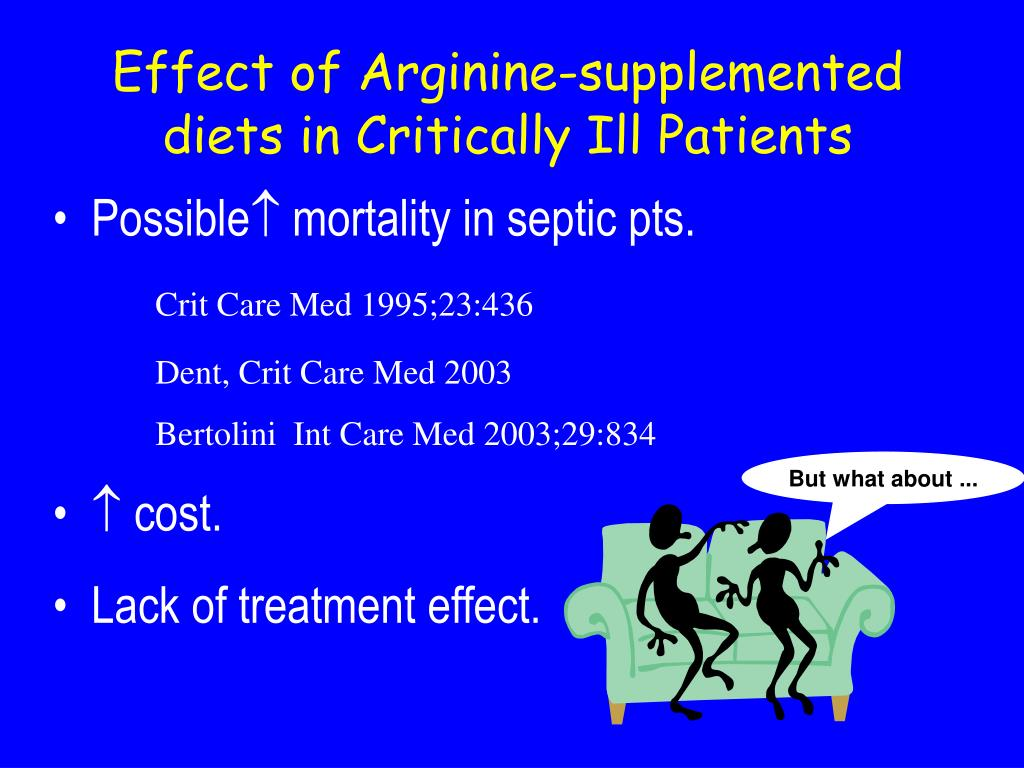 Effect of Arginine-supplemented diets in Critically Ill Patients