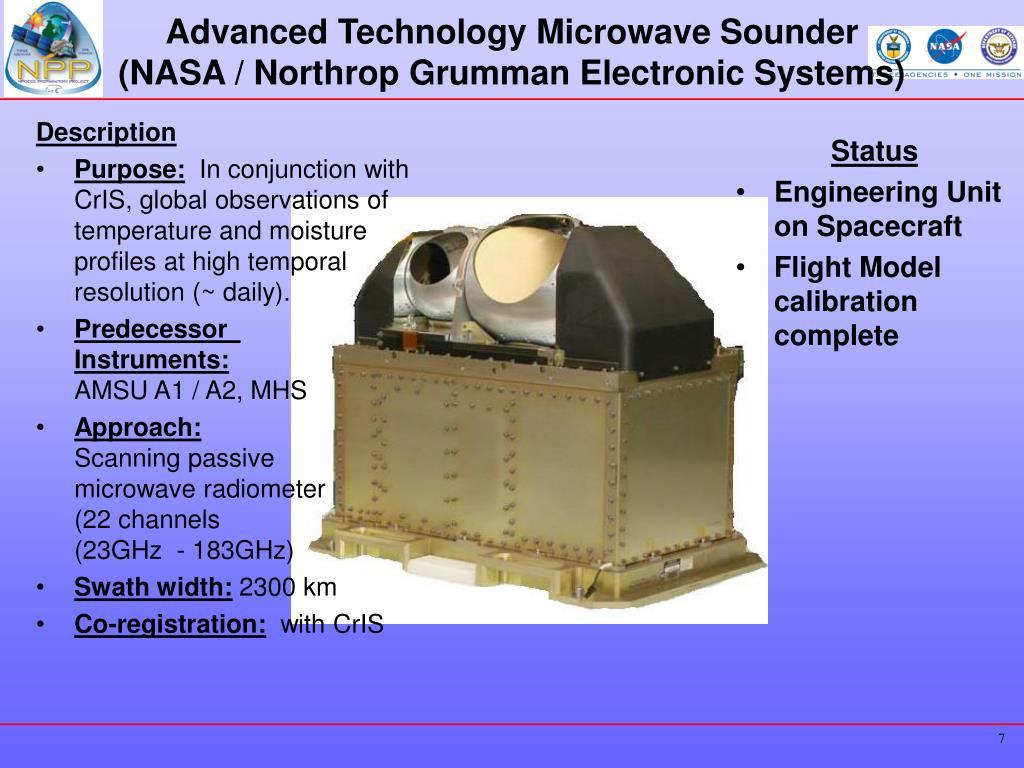 Advanced Technology Microwave Sounder