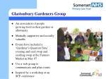 glastonbury gardeners group