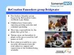recreation funseekers group bridgwater