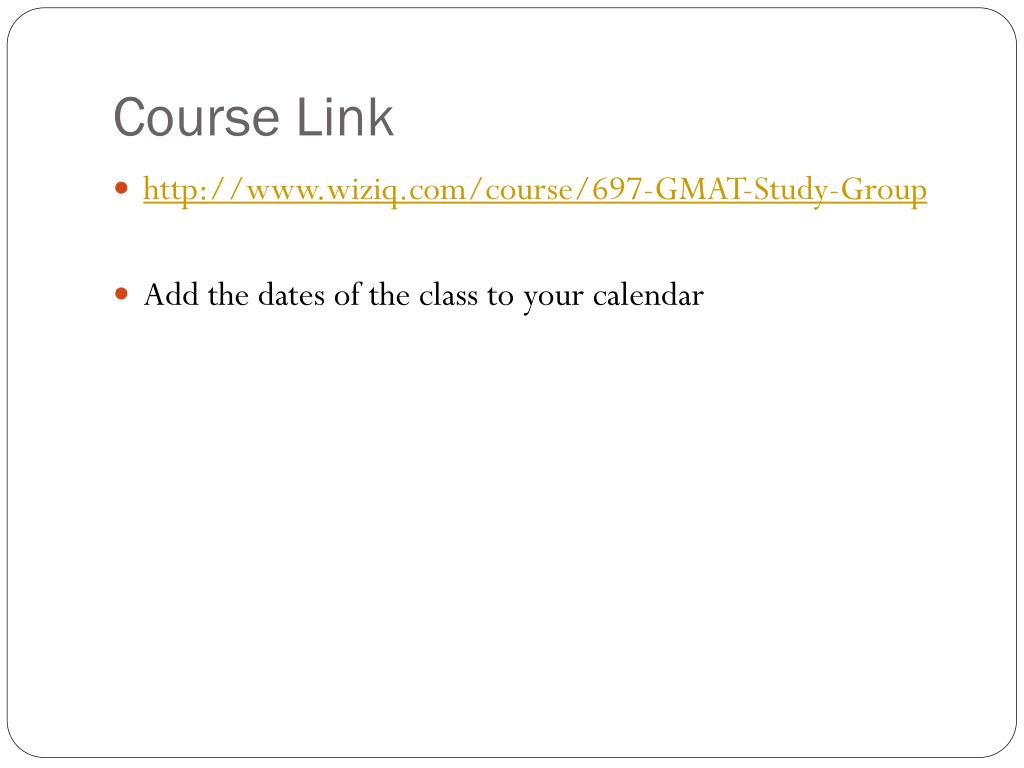 Course Link