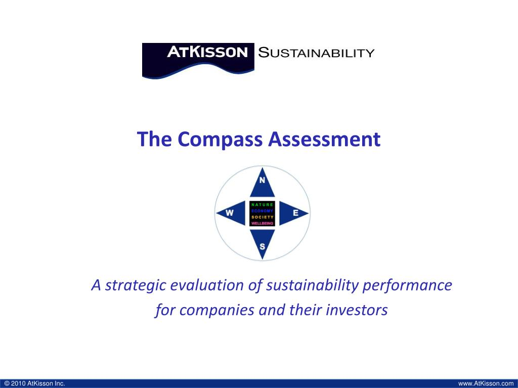 the compass assessment l.