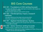 bis core courses13
