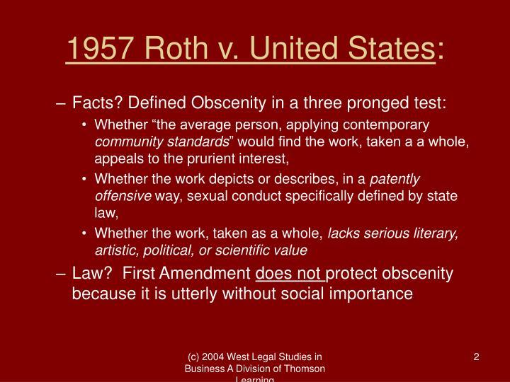 1957 roth v united states