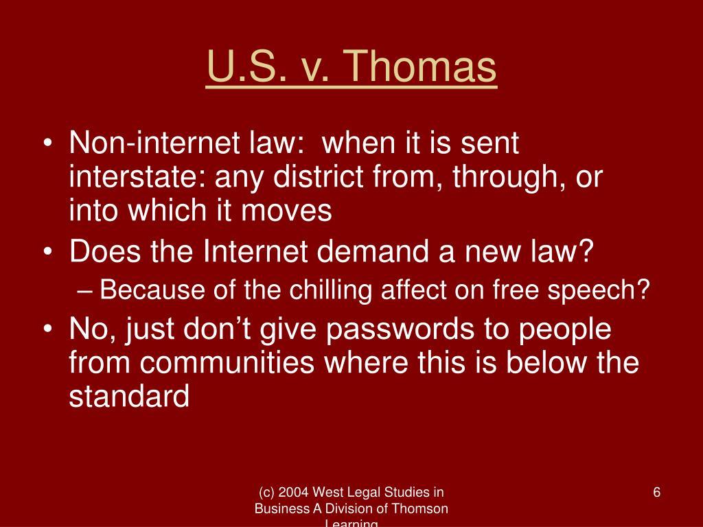 U.S. v. Thomas
