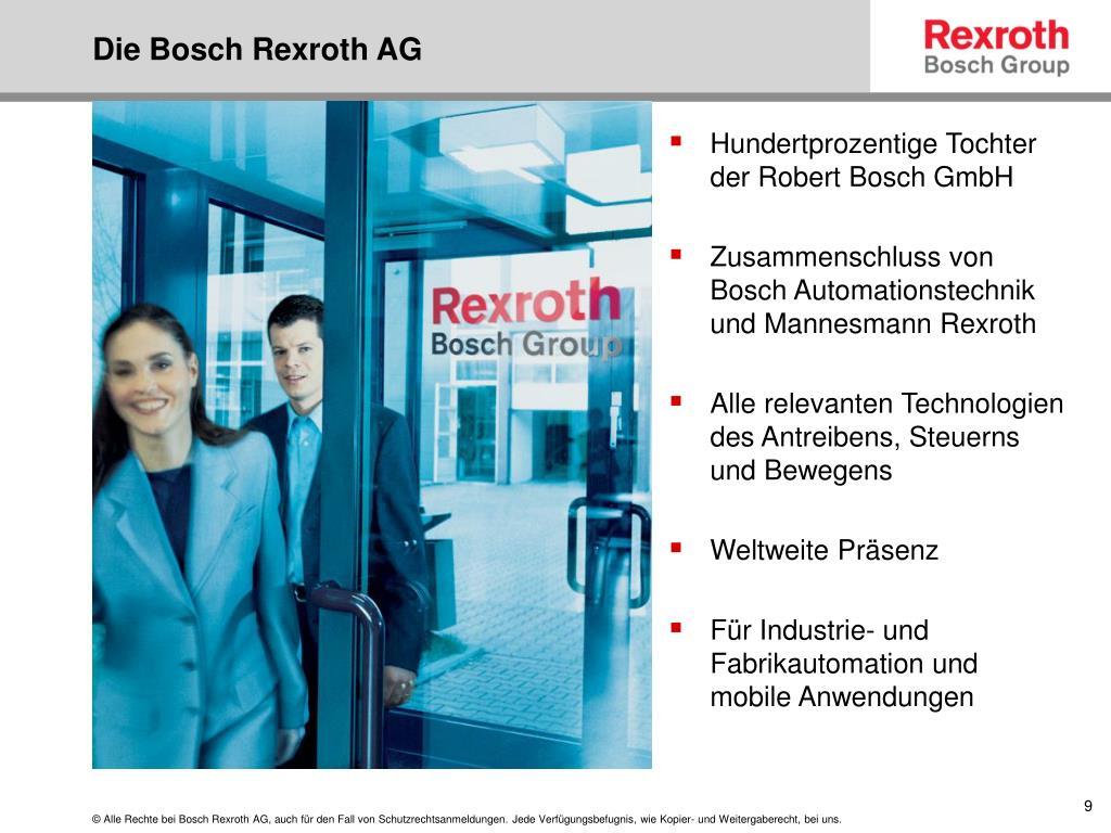 Die Bosch Rexroth AG