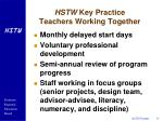 hstw key practice teachers working together