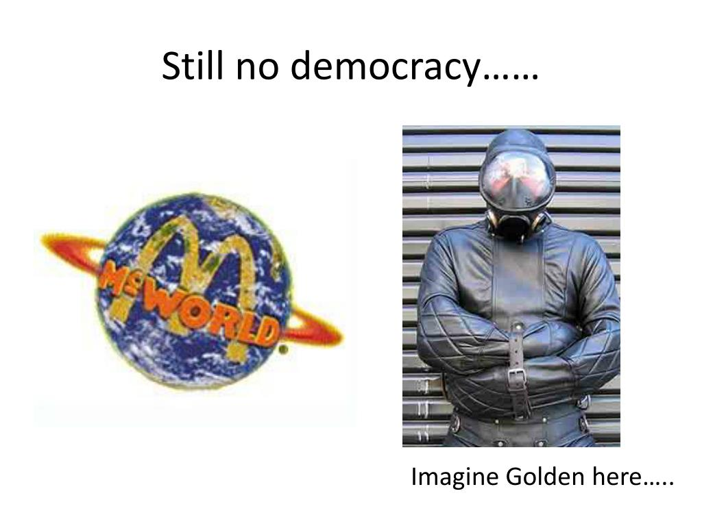 Still no democracy……