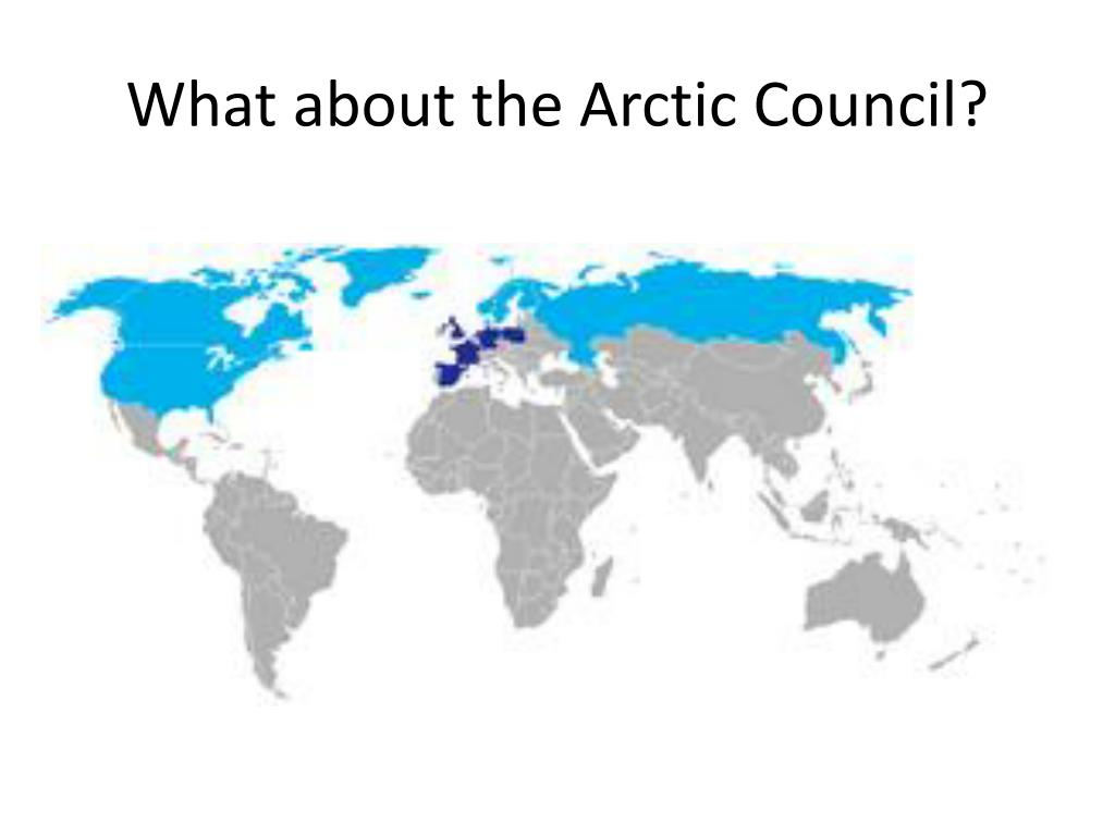 What about the Arctic Council?