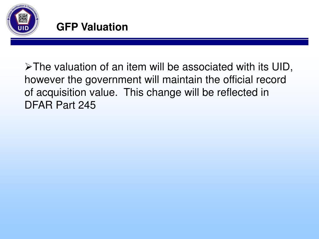GFP Valuation