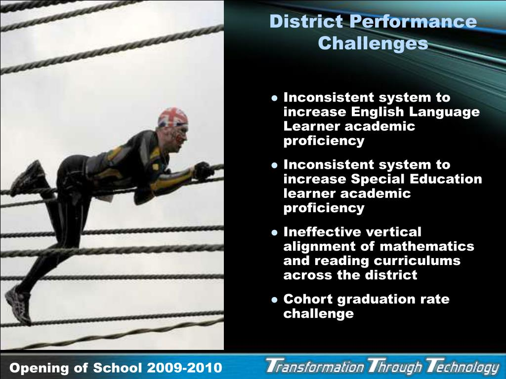District Performance Challenges