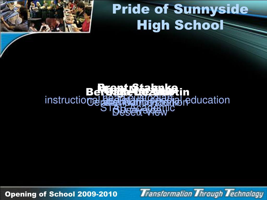 Pride of Sunnyside