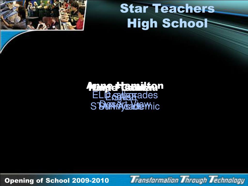 Star Teachers