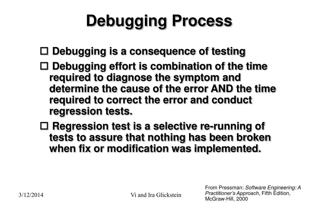 Debugging Process