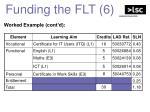 funding the flt 6