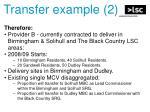 transfer example 2