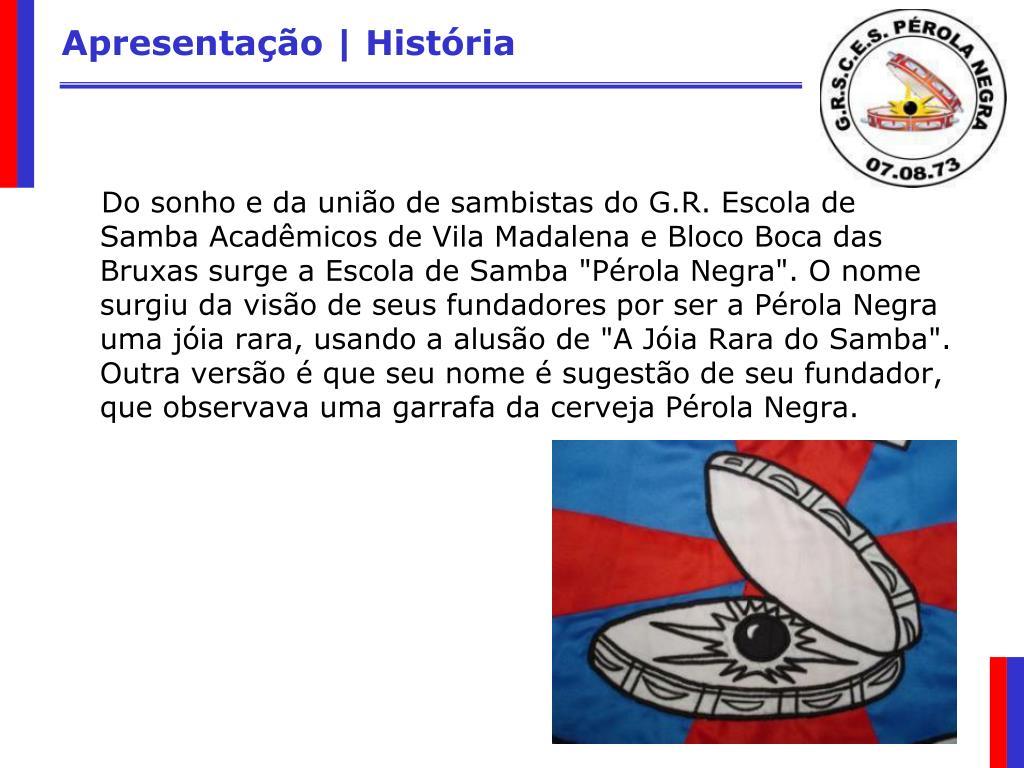 Apresentação | História