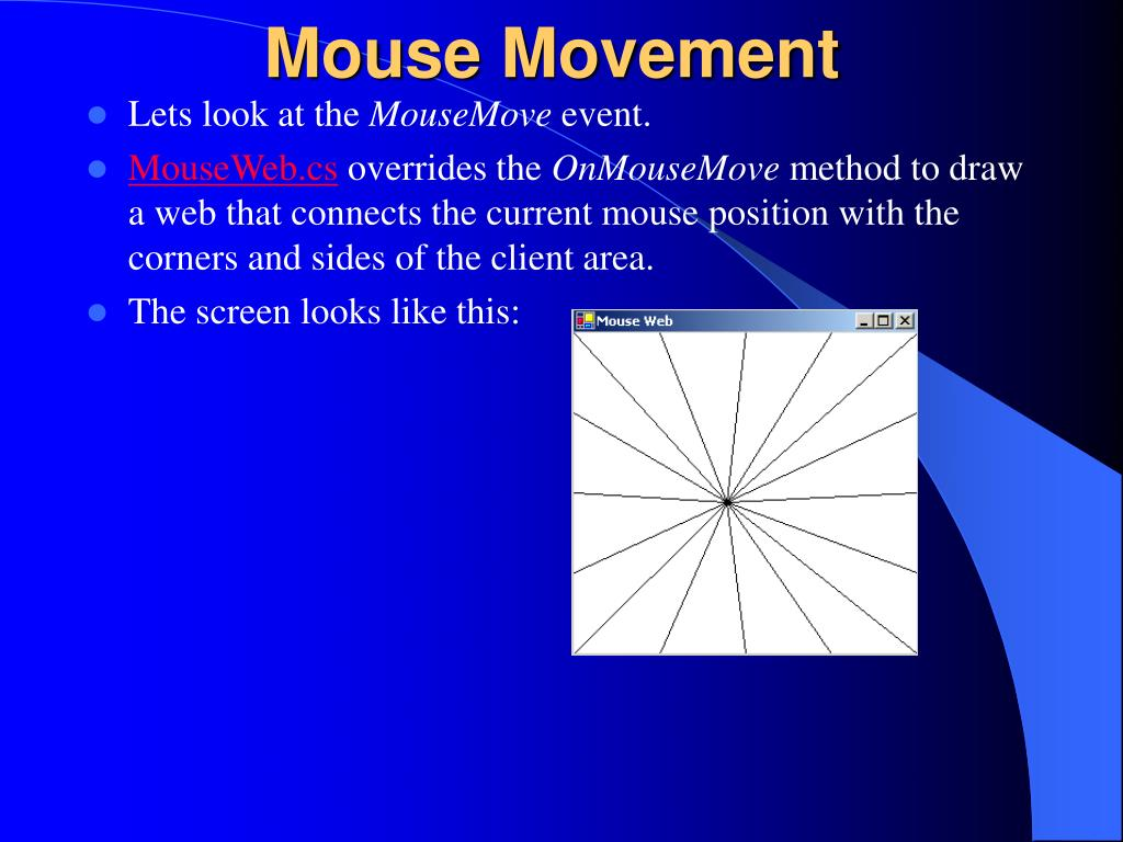 Mouse Movement