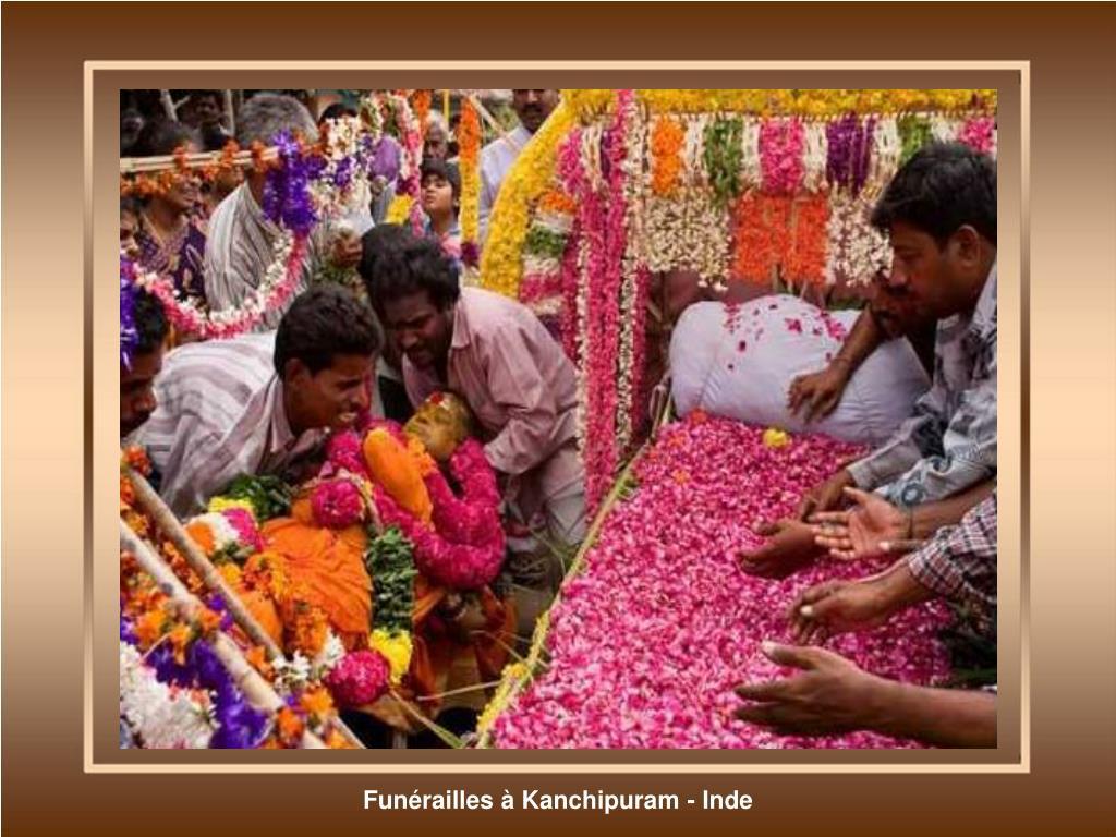 Funérailles à Kanchipuram - Inde