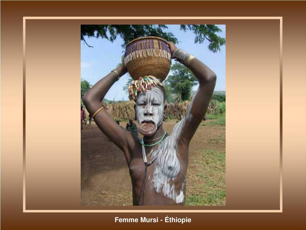 Femme Mursi - Éthiopie