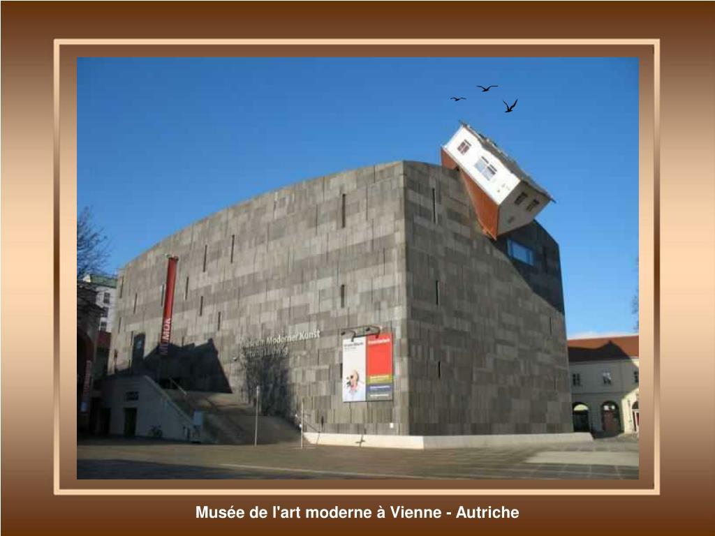 Musée de l'art moderne à Vienne - Autriche