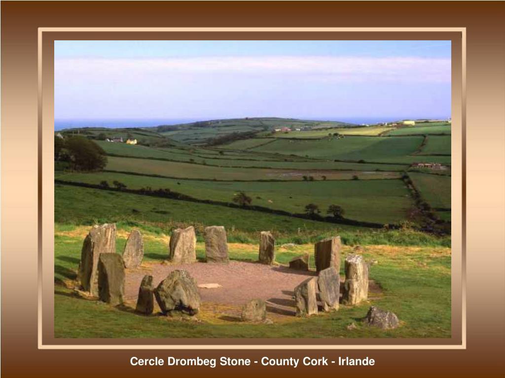 Cercle Drombeg Stone - County Cork - Irlande