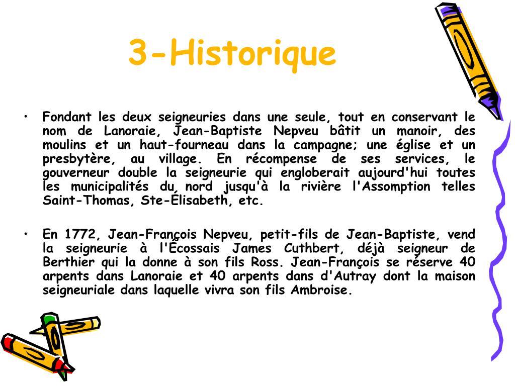 3-Historique