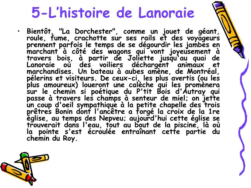 5-L'histoire de Lanoraie