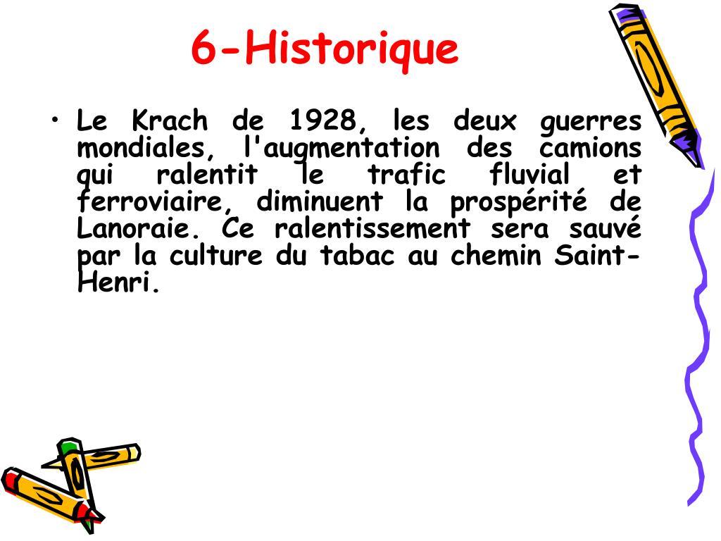 6-Historique