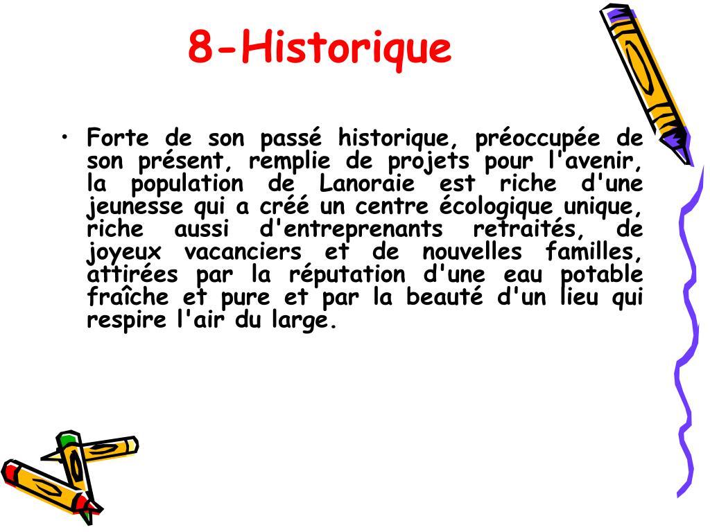 8-Historique