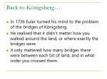 back to k nigsberg