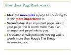 how does pagerank work