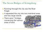 the seven bridges of k nigsberg5