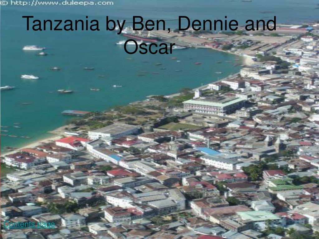 tanzania by ben dennie and oscar l.