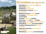 gi functions the case for gi