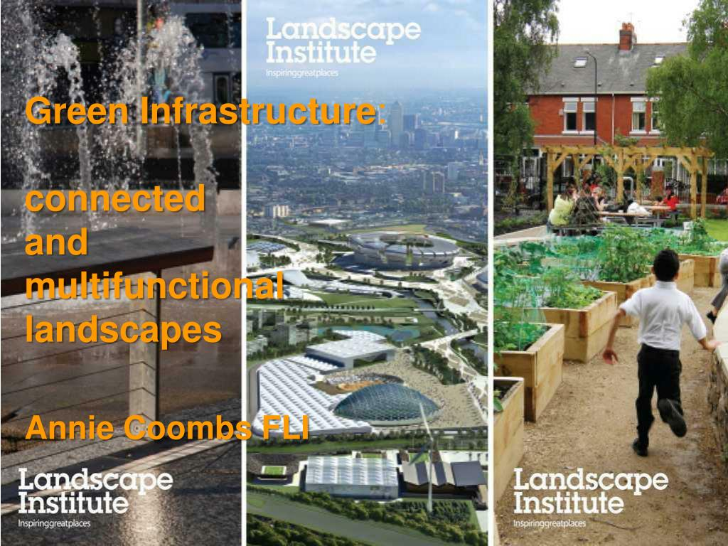 green infrastructure connected and multifunctional landscapes l.