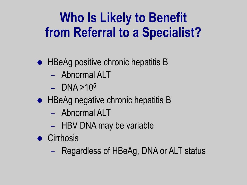 Who Is Likely to Benefit