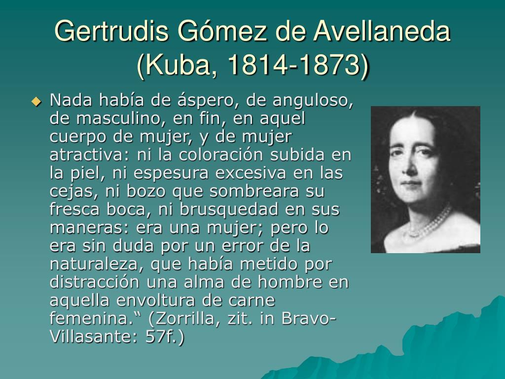 Gertrudis Gómez de Avellaneda (